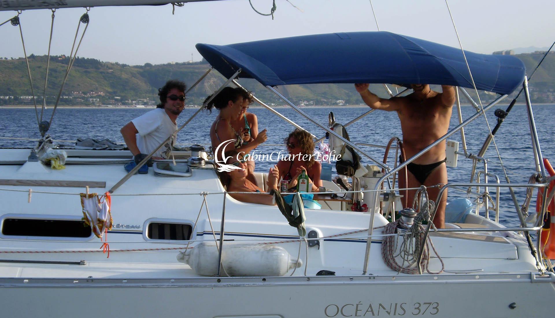 Alicudi - Imbarco Individuale - Barca a Vela - Vacanza - Cabin Charter Eolie